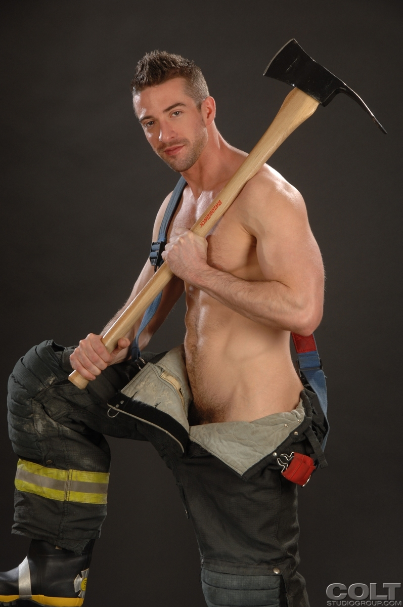 Was skinny firefighter big cock think